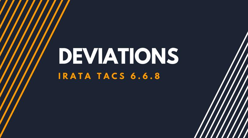 Deviations (1)