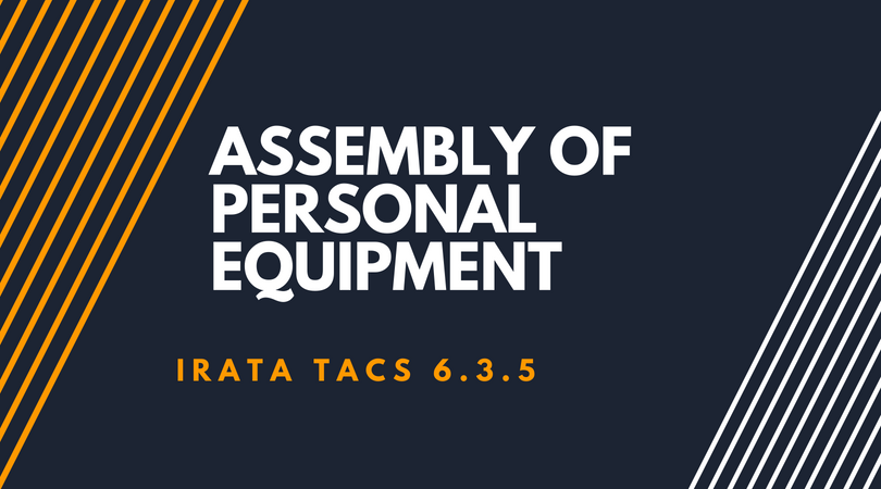 Assembly of Personal Equipment