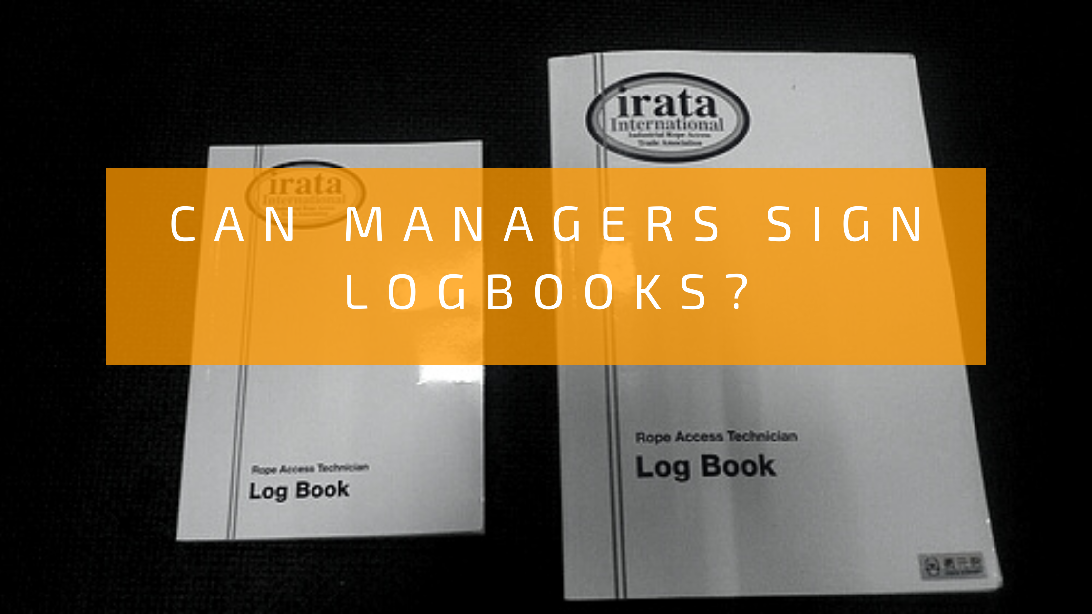 Can Managers sign logbooks_