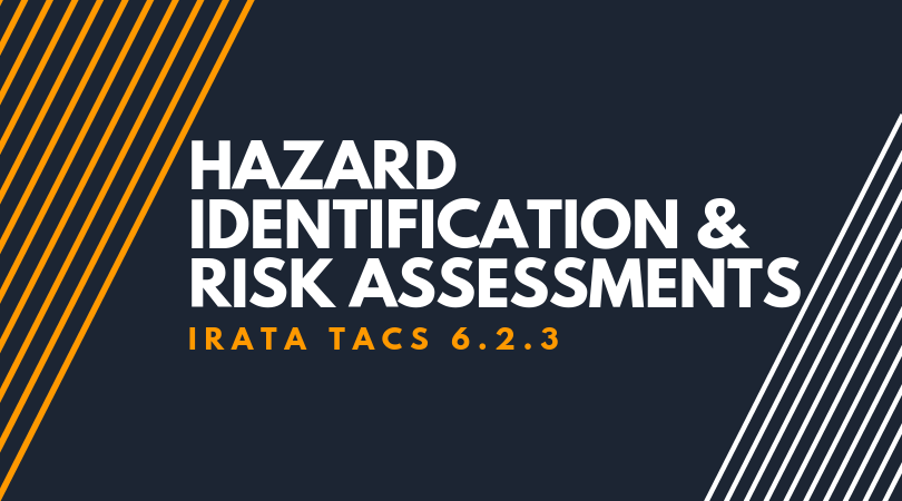 Hazard Identification and RA-1