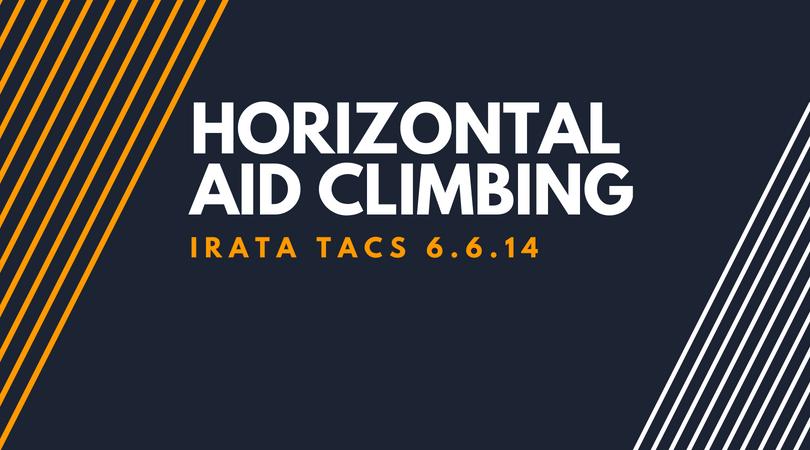 Horizontal Aid Climbing