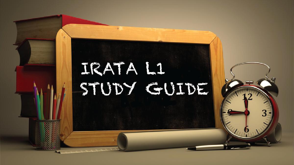 IRATA L1 Study Guide-2