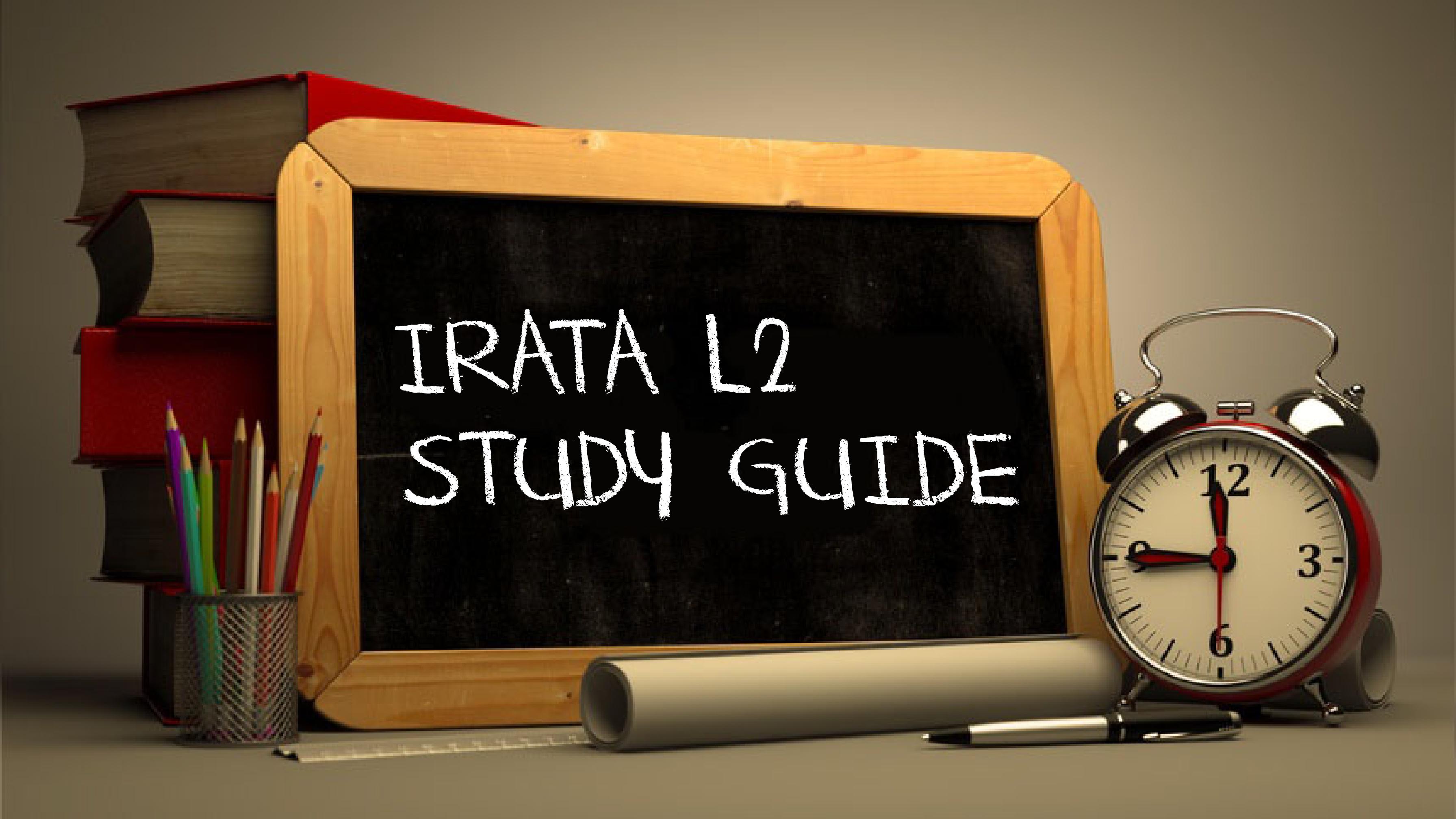 IRATA L2 Study Guide-01