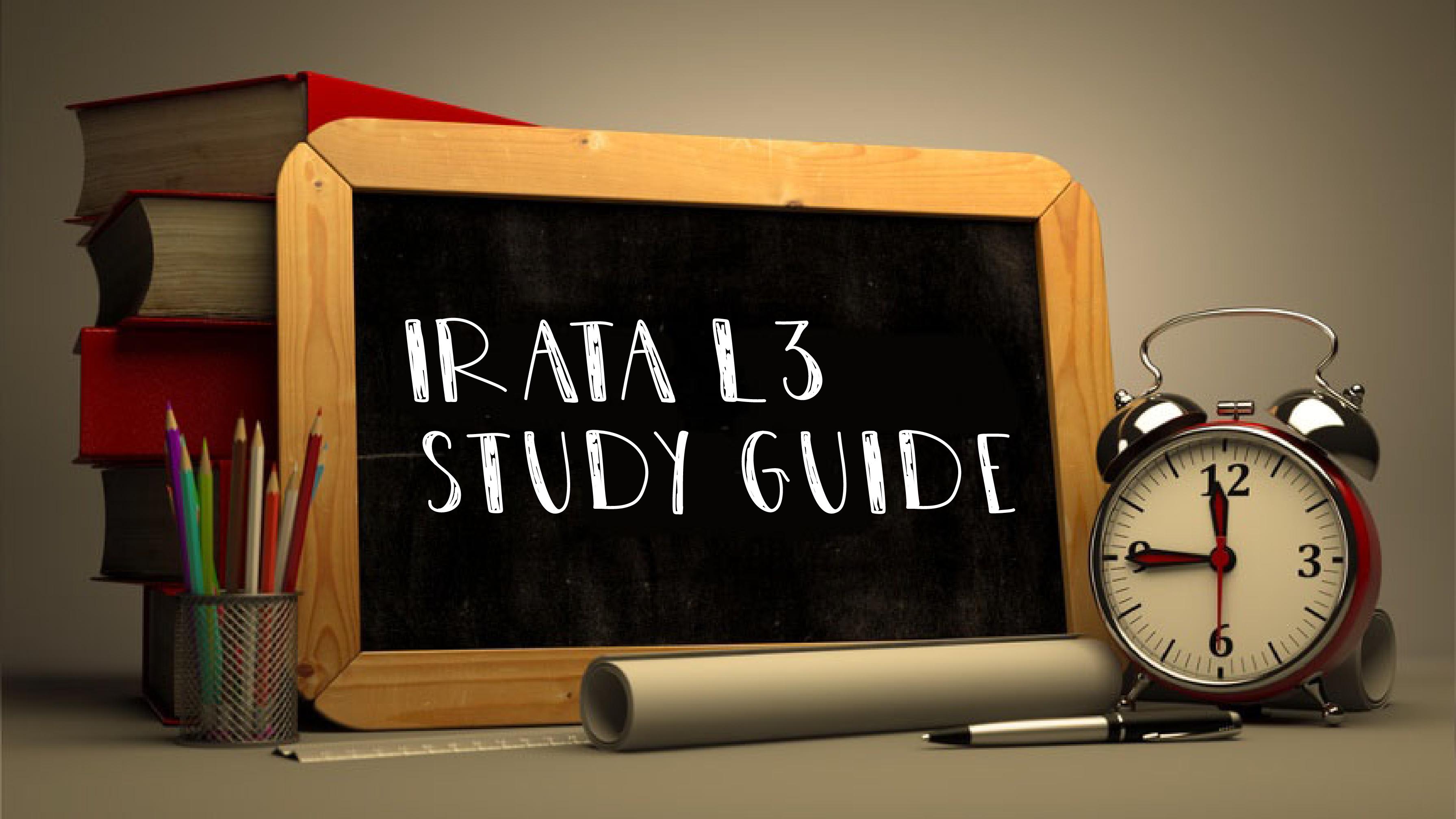 IRATA L3 Study Guide-01-01