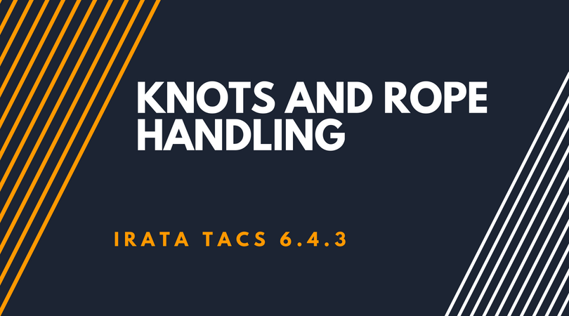 Knots and rope handling