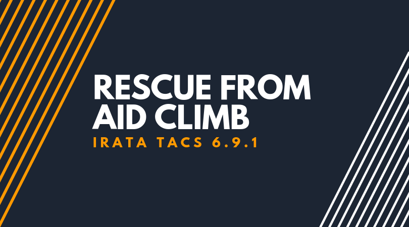 Rescue from Aid Climb