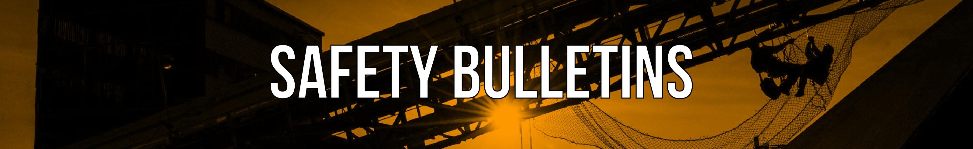 Safety Bulletins-01