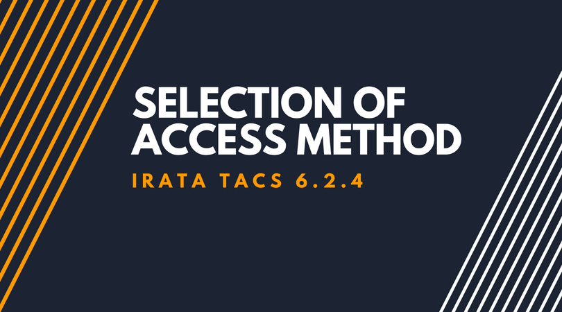 Selection of Access Method