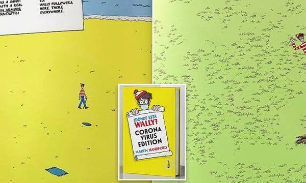 Wheres Waldo Covid edition